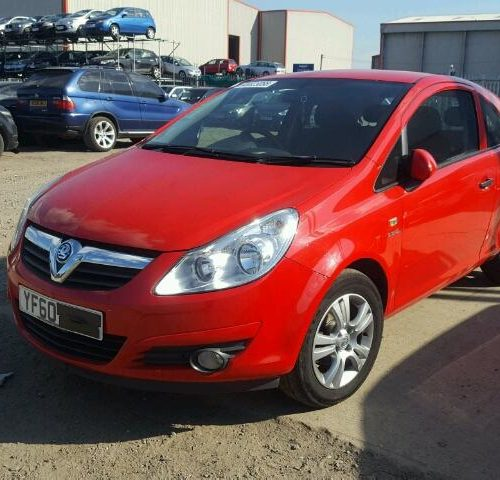 Vauxhall Corsa Wing Flame Red
