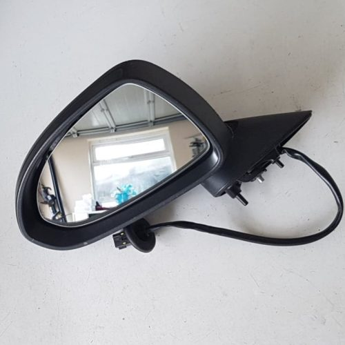 VAUXHALL CORSA D PASSENGER SIDE FRONT ELECTRIC **HEATED** WING MIRROR & GLASS