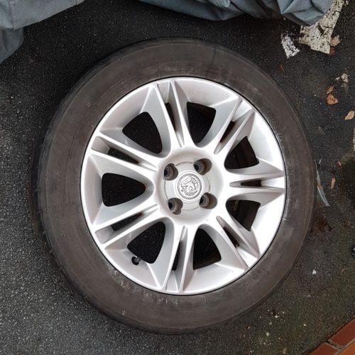 Corsa D Spare Wheel & Tyre - 16 Inch - 195 55 R16 (Clean Wheel)
